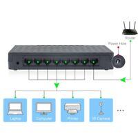 8 Port Fast Internet Ethernet Switch LAN Network Hub Extender Splitter Router