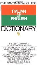 The Bantam New College Italian & English Dictionar