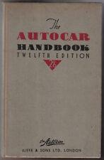 AUTOCAR manuale guida all' automobile moderna 12a ed MOTORE CARBURANTE INGRANAGGI FRENI CORPO +