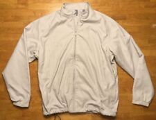 NWT Ashworth Men's Beige Golf Jacket Size: Large - PNC Father / Son Challenge