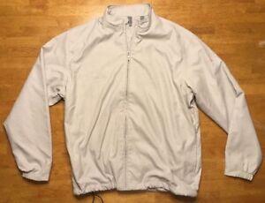 NWT Ashworth Men's Beige Golf Jacket Size: Large - PNC Father / Son Challenge