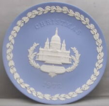 Wedgwood Christmas 1972 Plate Saint Paul's Cathedral London Made In England tk