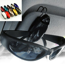 Car Auto Portable Glasses Sunglasses Holder Clip Sun Visor Ticket Pen Card Eye