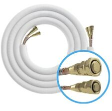 MRCOOL 25 ft. 1/4 in. x 1/2 in. Insulated Line Set for DIY 9K, 12K and 18K BTU