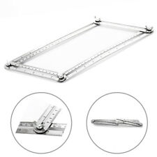 Stainless Steel Measuring Tools Multi-angle Forms Template Tool Four-sided Ruler