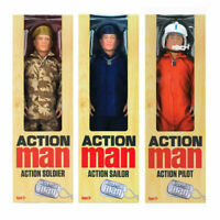 Action Man Action Figure - Choose Pilot, Sailor or Army Soldier Original