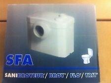 SFA Sanibroy WC Hebeanlage.Kleinhebeanlage,Zerhacker,Schredder,Pumpe OVP.