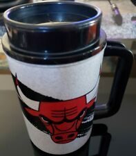 Vintage Thermo Chicago Bulls Dunkin Donuts Insulated Beer Mug Cup Stein NEW
