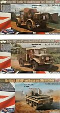 Gecko Models 1/35 Vehicles British Military New Plastic Model Kit Vehicle Model