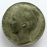 Netherlands Medal Queen Wilhelmina 50mm 35gr
