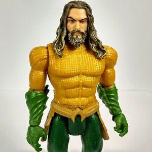 """Aquaman Movie DC Comics 6"""" Aqua Man Action Figure Royal Armor Green Gold 2018"""