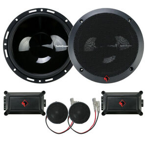 """Rockford Fosgate P165-SE 6-1/2"""" Euro Fit Component Speakers External Crossovers"""