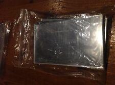 Small plastic mirrors 7.5 x 12.5cm pack 6