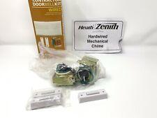 Heath/Zenith Contractor Doorbell Kit Wired Dw-102 *No Plastic Cover*Two Bells*