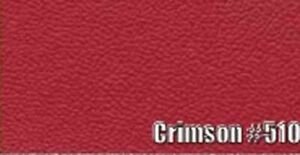1966 PLYMOUTH BELVEDERE CONVERTIBLE SUN VISORS, COLOGNE PATTERN, CRIMSON COLOR