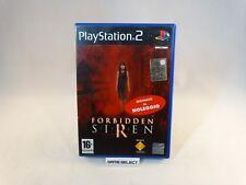 FORBIDDEN SIREN 1 HORROR SONY PS2 PLAYSTATION 2 PAL ITALIANO ORIGINALE NOLEGGIO