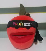 FRUIT NINJA STRAWBERRY PLUSH TOY CHARACTER TOY FROM THE PHONE APP GAME!