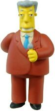 Simpsons 20th Anniversary Figurines Series 11-15 Kent Brockman figure (w/ Tag)