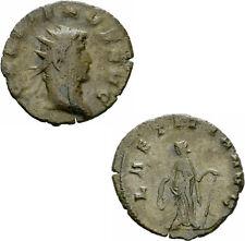 Gallienus Antoninian Mediolanum 263-264 LAETITIA AVG Laetitia Anker RIC 489 var.
