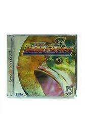 NEW SEALED BASS FISHING GAME FOR SEGA DREAMCAST