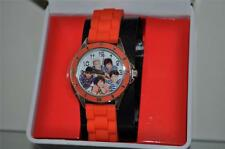 1D ONE DIRECTION Girls ANALOG WATCH Orange SILICON STRAP NWT FAST HANDLING