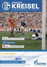 Schalker Kreisel + 18.09.2011 + FC Schalke 04 vs FC Bayern München + programma +