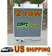 2 row Suzuki Swift GTi 89-1994 Aluminum Radiator MT 1990 1991 1992 1993 90 94 93