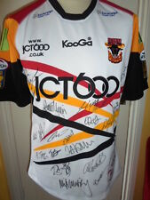 2010 Squad Signed Bradford Bulls Super Rugby League Shirt small bnwt (22338)
