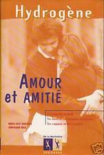 Livre hydrogène amour et amitié Marie-José Auderset - Jean-Blaise Helo book
