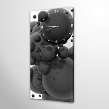 Wanduhr Modern Design Lautlos Wohnzimmer Leinwanduhr Design Deko Uhr 001