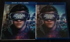 Ready Player One SciFi Movie Film Blu-ray Disc Free Shipping Us Vith Tracking
