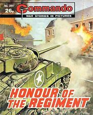 COMMANDO MAGAZINE WAR STORIES IN PICTURES - No. 2097 'Honour of the Regiment'