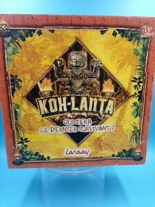 jeu de societe carte plateau VF TBE koh-lanta qui sera le dernier survivant ?