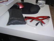 Shooting Eye Glasses Protective Gear Burgundy/Red Ladies Lens Frame Gun Safety