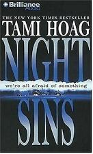 Night Sins TAMI HOAG -audio abridged cd- discs are in excellent used condition