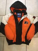 Vintage 90s STARTER Philadelphia Flyers Jacket Size Medium