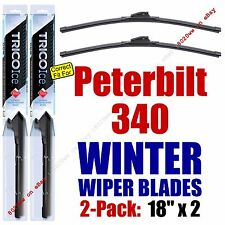 WINTER Wiper Blades 2pk Premium fit 2007-2010 Peterbilt 340 - 35180x2