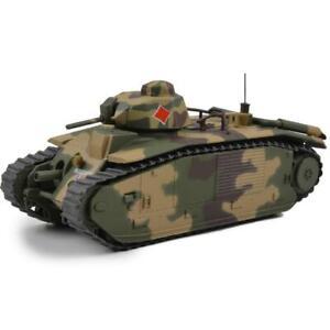 French Char B-1 Heavy Tank 15E Battallion Indochine  1/43 AFV #23183