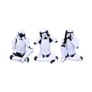 Drei Stormtrooper : 10 cm sitzend (3 Figuren)