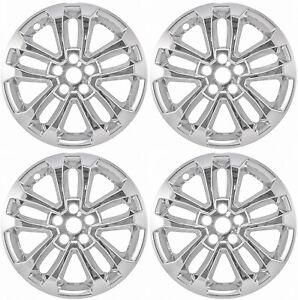 "17"" CHROME Wheel Skins / Hubcaps (Set of 4) FOR 2020-2022 Ford Escape SE"