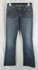 Rock Republic Kiss Jeans Denim Womens Size 0 25 Boot Cut Low Rise Sample 2008