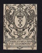 09)Nr.157- EXLIBRIS-Heraldik / heraldry, Künstler unbekannt , um 1600 ?