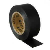 Black Wiring Loom Harness Insulation Adhesive Tape Roll PVC Loom Car 18mx25mm