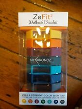 MyKronoz Zefit 2 Replacement Wristbands x 7 & clasps (NEW AND SEALED)