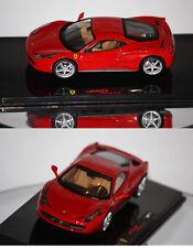 Hotwheels Elite Ferrari 458 Italia 2009 rouge 1/43 P9953