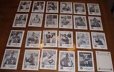 1975 TUCSON TOROS BASEBALL CARD SET - 24-CARD SET - TCMA - OAKLAND A's AFFILIATE