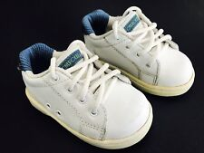 CHEROKEE White Leather Oxford Athletic Tennis Shoes Toddler Baby Boys Size 5