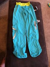 Zumba Workout Dance Studio Cargo Pants Dancing Athletic Womens Teal Sz S