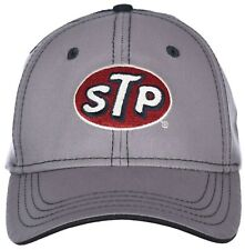 920166cd STP Classic Logo Embroidered Gray & Blue Mesh Back Adjustable Cap