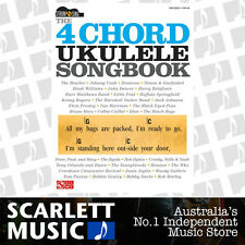 The 4 Chord Ukulele Songbook Book *NEW*  Four Chord Sheet Music Strum & Sing